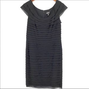 Adrianna Papell Tiered Shift Dress
